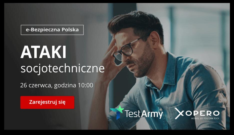 Ataki socjotechniczne - webinar - 26.06 g. 10:00