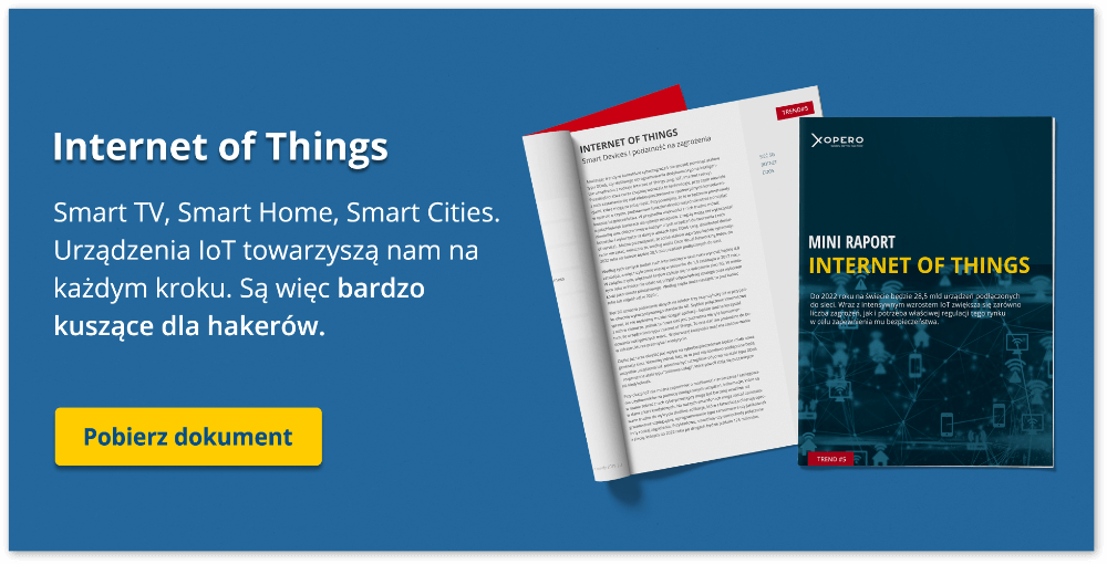 Internet of Things: Android, Smart TV, Smart Cities, sieć 5G. Pobierz raport