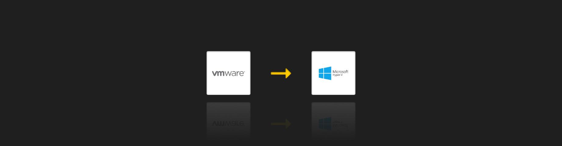 how to convert VMware to Hyper-V