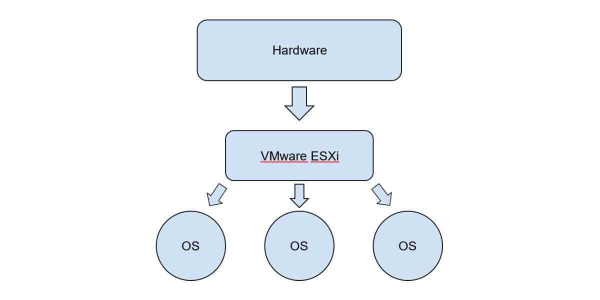 VMware ESXi model