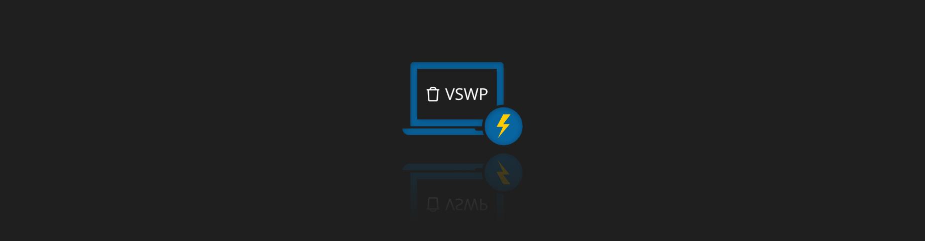 Can I delete the VSWP file
